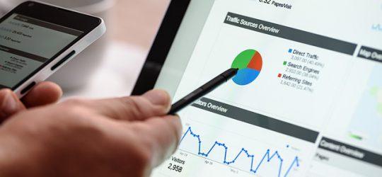 Google adatok egy tableten