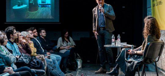 Prisztavok Zoltán a COLLAB#3 színpadán