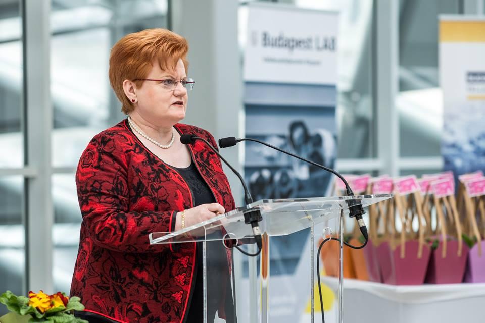Szalai Piroska, a BVK kuratóriumi elnöke Kép:BVK