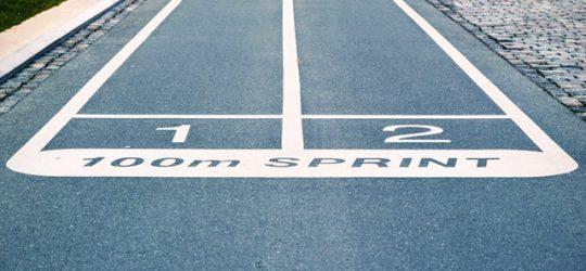 versenypálya startvonala