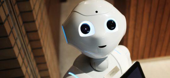 robot white technology