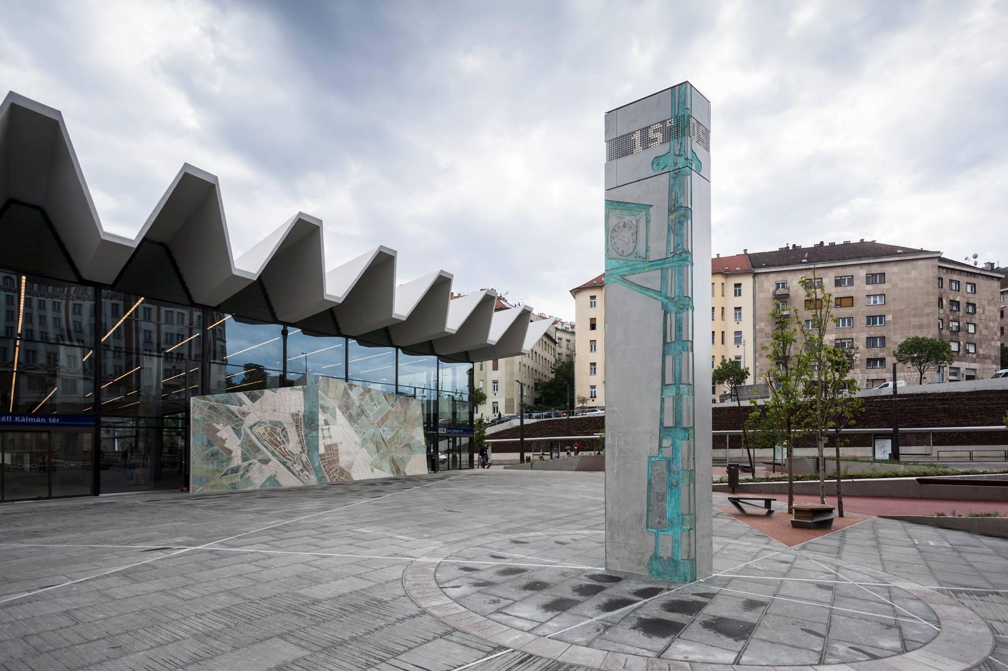 A Széll Kálmán téri új óra