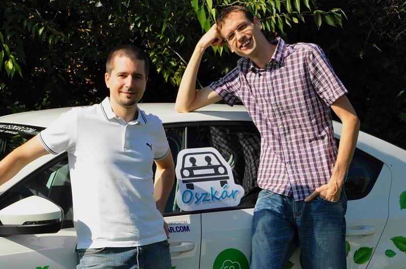 Az Oszkár telekocsi alapítói