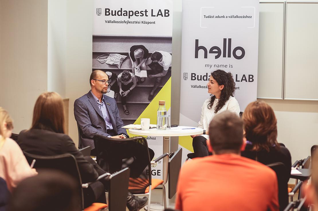 Sebő Gyula, a Julius-K9 alapítója a StartLAB vendége