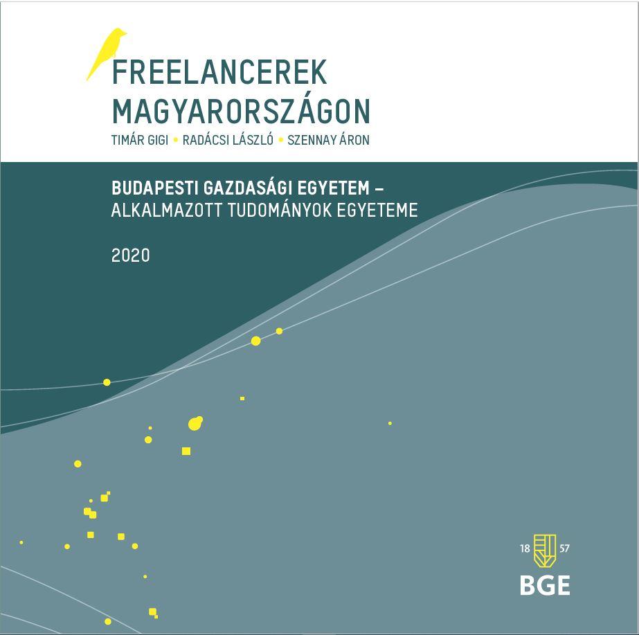 BGE freelancer kiadvány borító