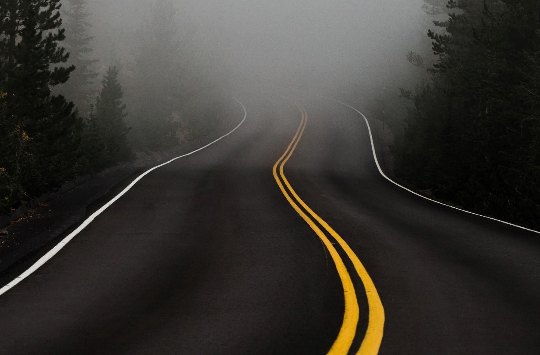 ködbe vesző út